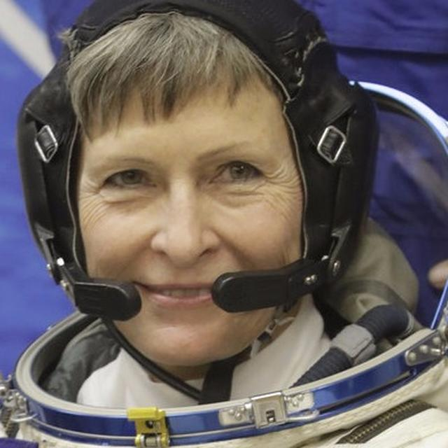 NASA astronaut Peggy Whitson, who spent 288 days in space, returns to Earth
