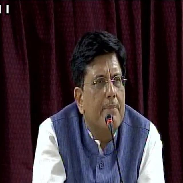 """""""BULLET TRAINS IN INDIA TO BOOST EMPLOYMENT"""" :GOYAL"""