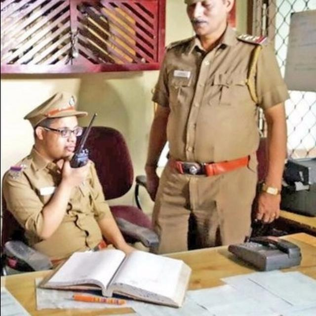 When a boy with Down syndrome became the sub-inspector of Chennai