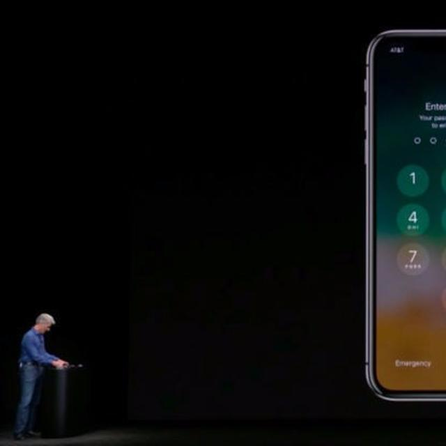 Apple iPhone X had an embarrassing moment on its first show