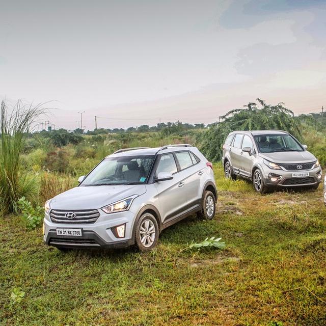 Jeep Compass vs Tata Hexa vs Hyundai Creta: Comparison