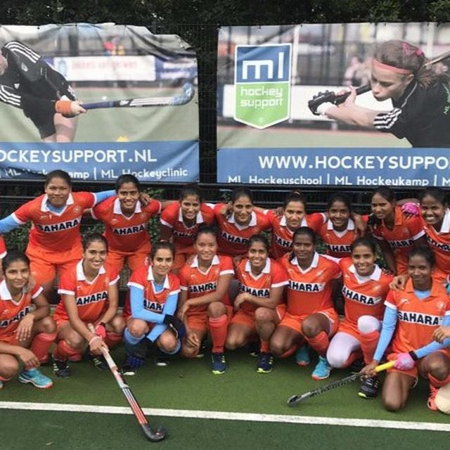 Indian women beat Belgium junior men's team