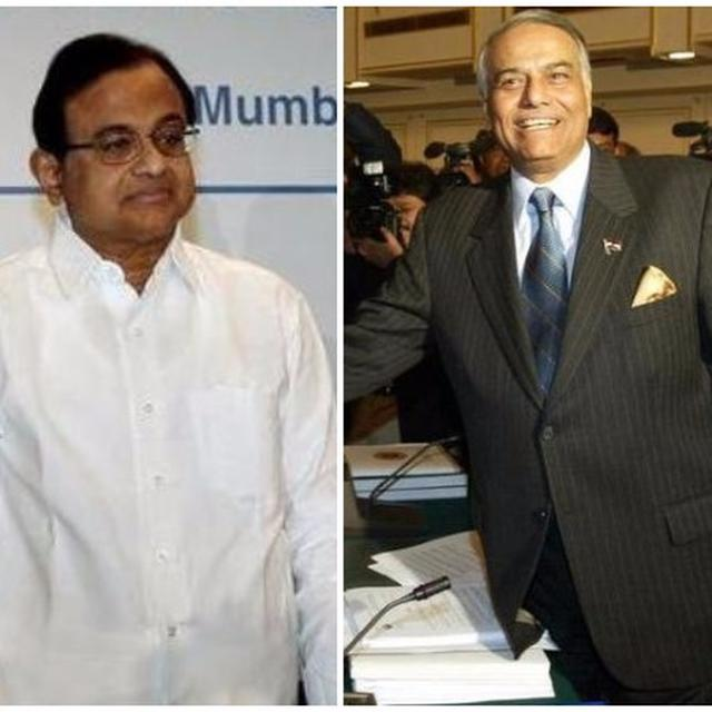 Chidambaram questions Centre on Yashwant Sinha's article