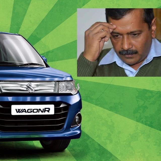 Kejriwal's Wagon R stolen!