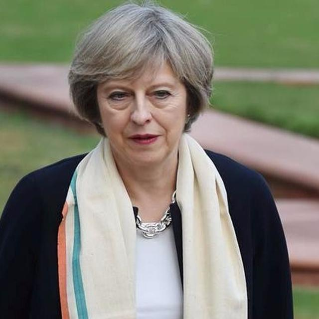 'A special thank you' from UK PM