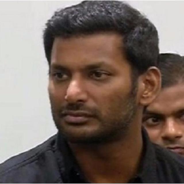 Tamil Actor Vishal's Production House Raided