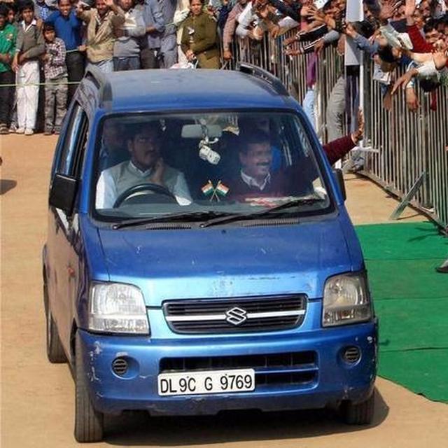 Aam aadmi Wagon R all geared up