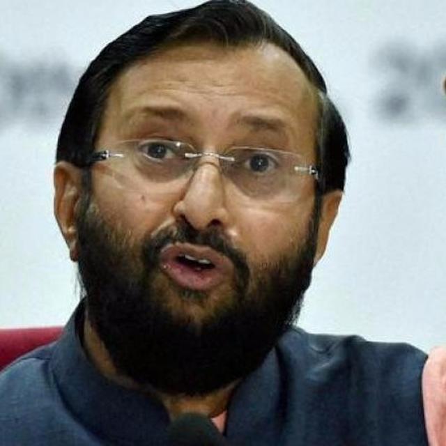 Javadekar slams Congress