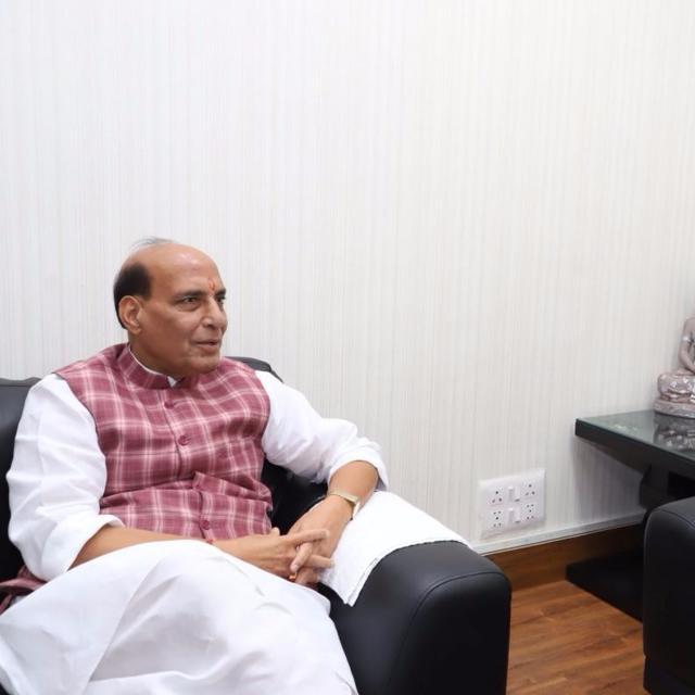 Here's why Rajnath Singh appreciates Akshay Kumar