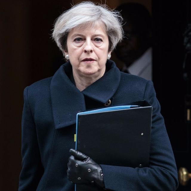 Theresa May calls for change