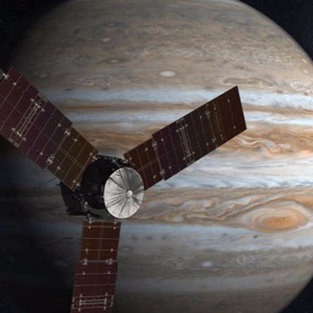 Spacecraft Juno does it again!