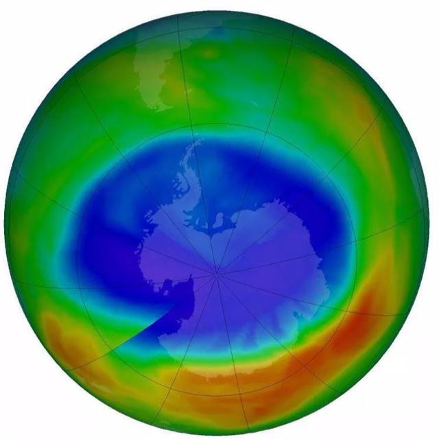 Smallest ozone hole?