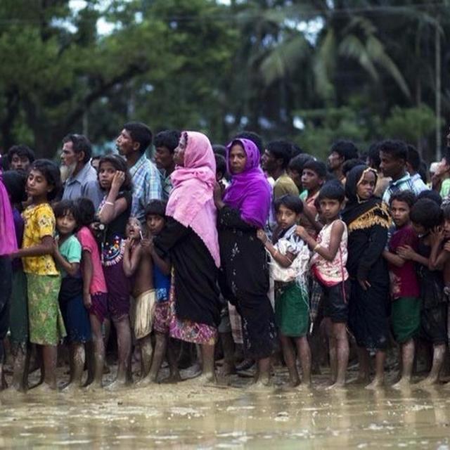 MYANMAR DENIES ATROCITIES