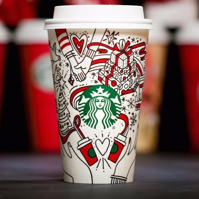 MYSTERY HANDS ON STARBUCKS CUP!