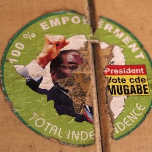 MUGABE HAS TO GO!