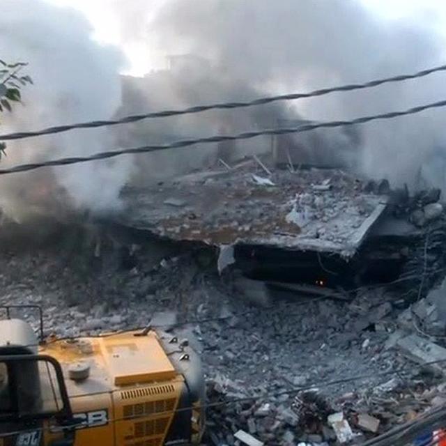 LUDHIANA FIRE CLAIMS 10 LIVES
