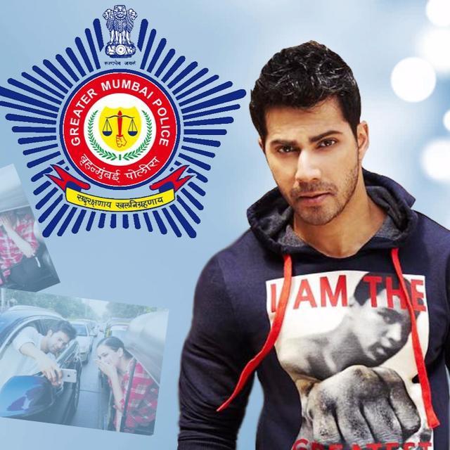 MUMBAI POLICE SLAMS VARUN DHAWAN