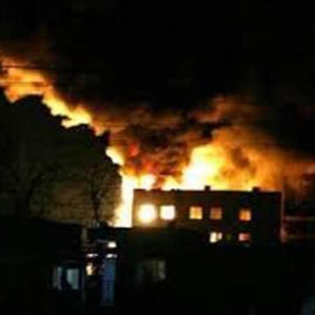 FIRE AT PAK LAW MINISTRY'S BUILDING