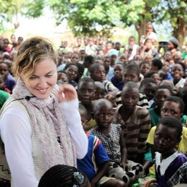 MADONNA'S CHARITY IN MALAWI