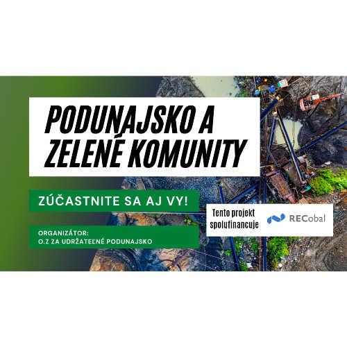 Podunajsko a zelené komunity: Assistent/ka marketingu