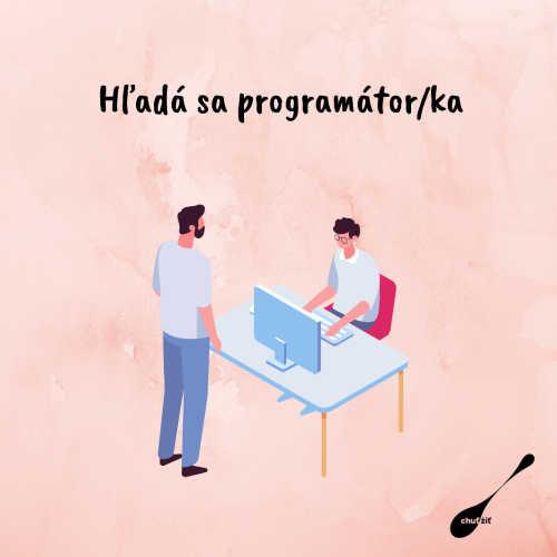Hľadáme programátora