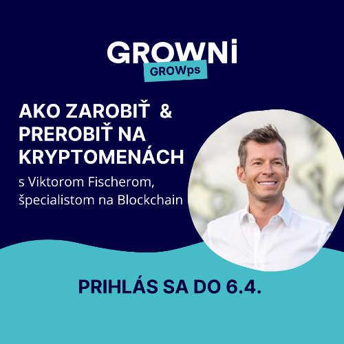GROWps: Ako zarobiť/ prerobiť na kryptomenách
