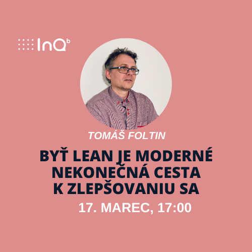 Online event: Byť LEAN je moderné - nekonečná cesta k zlepšovaniu sa