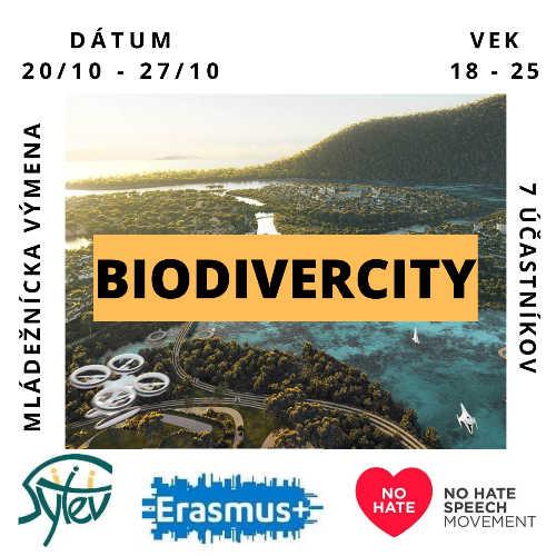 """Erasmus+ mládežnícka výmena """"BIODIVERCITY"""""""
