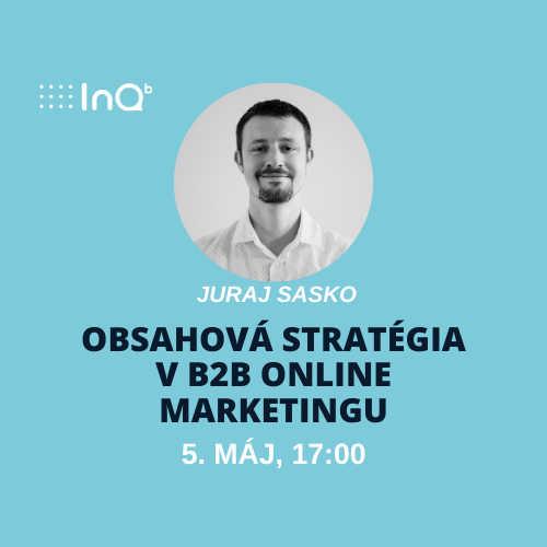 Online event: Obsahová stratégia v B2B online marketingu