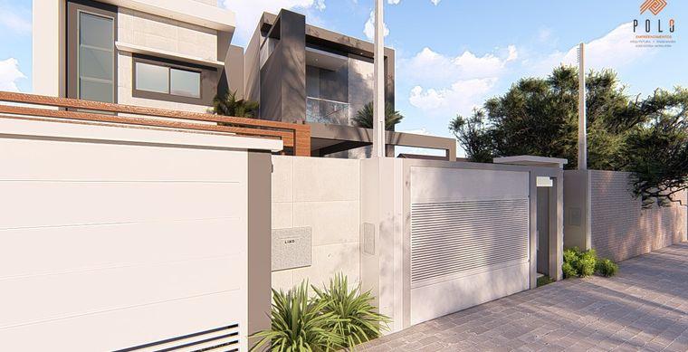 Casa em Toledo-PR no bairro Jd. Pancera - Rua Pierina Marcon Berticelli, 578, Sobrado- UN 01
