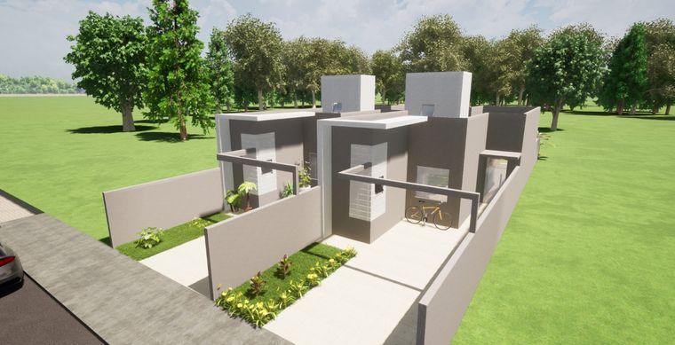 Casa em Toledo-PR no bairro Jd. Coopagro- Flora Galante - Rua Maria Adelina Colla, 2249, UN 02
