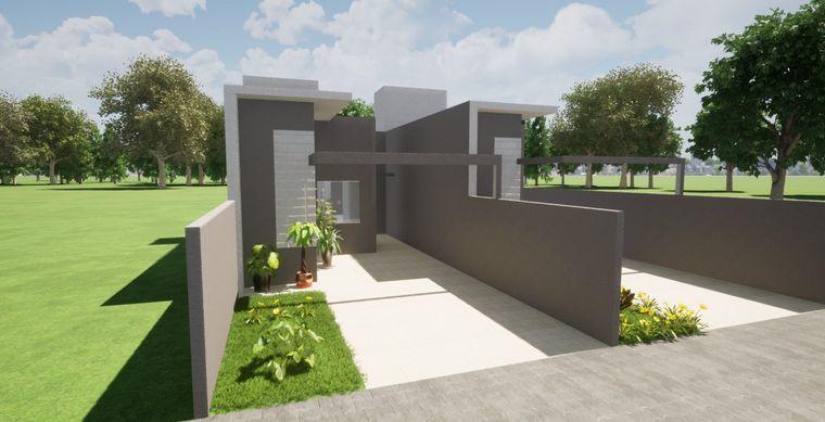 Casa em Toledo-PR no bairro Jd. Coopagro- Flora Galante - Rua Rudolfo Thielke, 558, UN 02