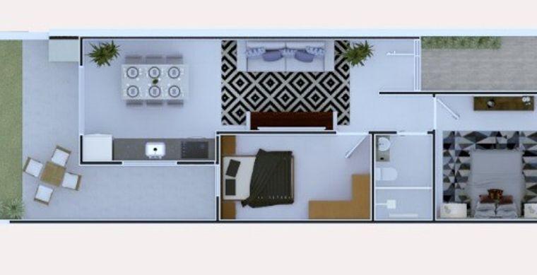 Casa em Toledo-PR no bairro Alto Bonito Pinheirinho - Alfeo Sartoretto, 565/ 569