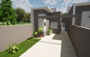 Casa em Toledo-PR no bairro Alto Bonito Pinheirinho - Rua Antonio Vicente de Araujo, 554, Casa Un 01