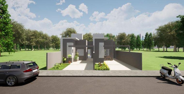 Casa em Toledo-PR no bairro Alto Bonito Pinheirinho - Rua Antonio Vicente de Araujo, 554, Casa un 02