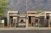 Casa em Toledo-PR no bairro Jd. Bressan  - Rua Gertrudes Ringwald Pedrini, 848, UN 02
