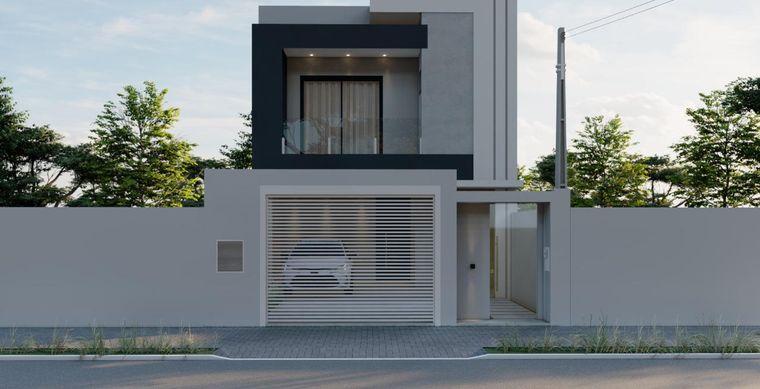 Casa em Toledo-Pr no bairro Jardim Pancera  - Rua Bom Pastor, 000000