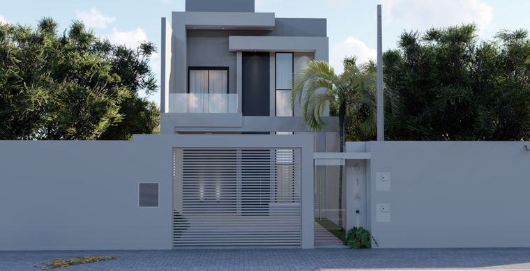 Casa em Toledo-Pr no bairro Jardim Pancera - Recanto das Hortênsias  - Rua Pierina Marcon Berticelli, 000000
