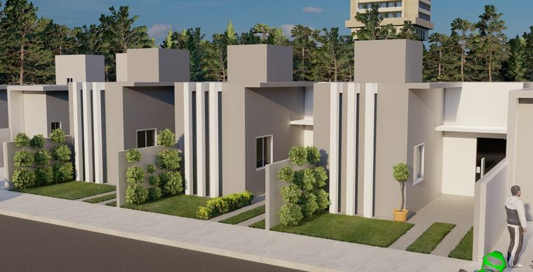 Casa em Toledo-Pr no bairro São Francisco  - Rua Jose Gobbi, 6346, UN 01
