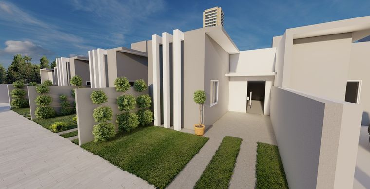 Casa em Toledo-Pr no bairro São Francisco  - Rua Jose Gobbi, 6350, UN 02