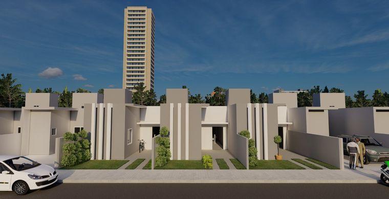 Casa em Toledo-Pr no bairro São Francisco  - Rua Jose Gobbi, 6354, UN 03