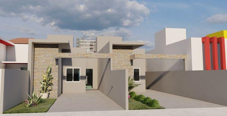 Casa em Toledo-Pr no bairro JD Europa/America  - Rua Antonio V. De Araujo, 0560, UN 01