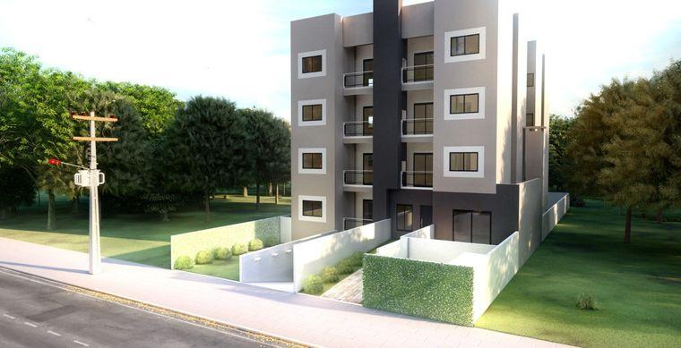 Apartamento em Toledo-PR no bairro Centro - Rua Armando Luiz Arrosi, 437, 5º Pavimento/ Ap 43 (fundos)