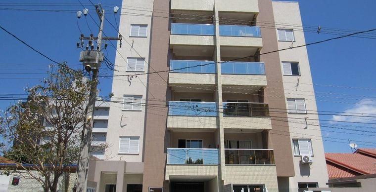 Apartamento em Toledo-PR no bairro Vila Industrial  - Borges de Medeiros, 2039, 5º Pavimento/ Ap 41 (frente)