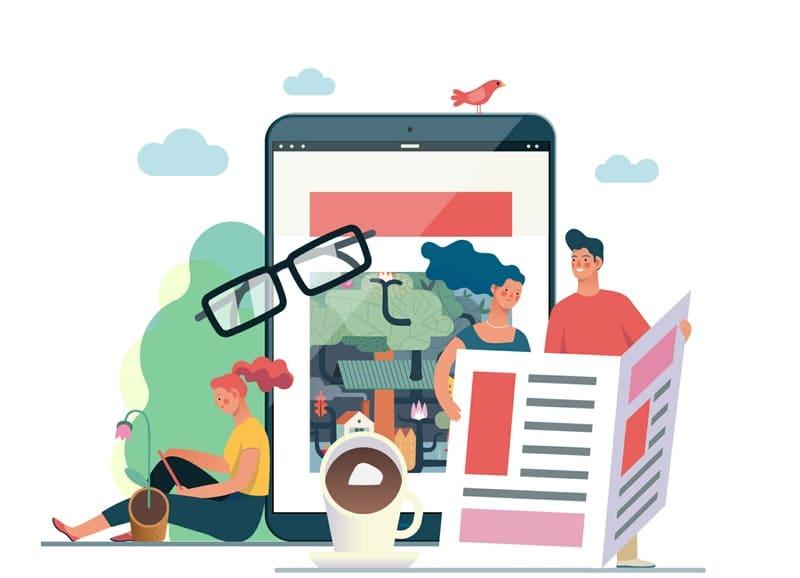 Informiraj se v parku, kavarni, preko tablice, telefona ali medijev kaj lahko dobiš