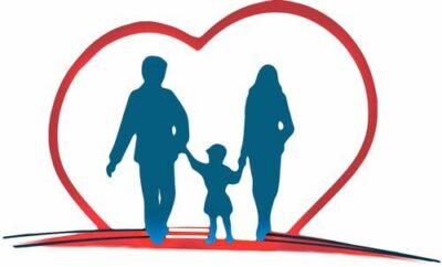 Mlada družinica je namenjena proti srcu zdravja