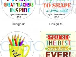 MGN02-02 – Teacher's Quotes – Personalized Magnet