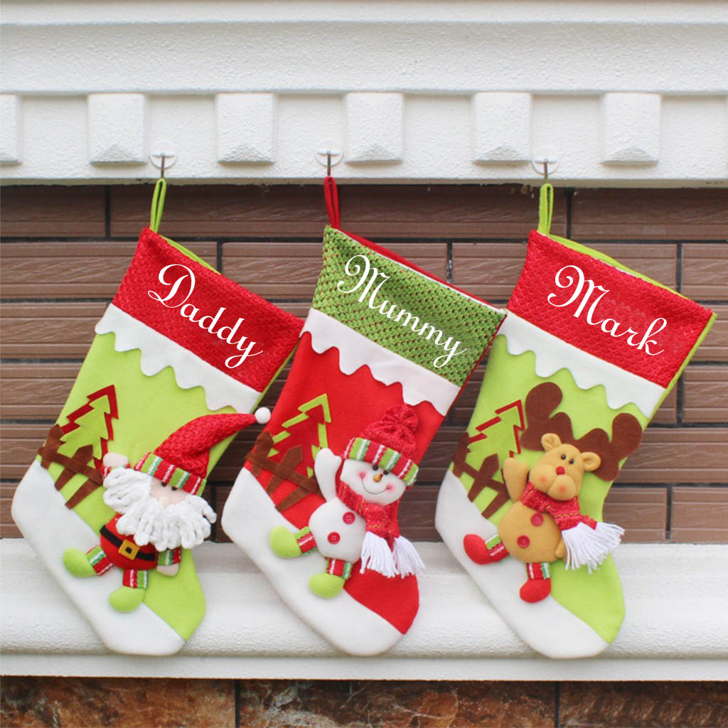 Christmas Stocking Personalized.Personalized Kid S Christmas Stockings