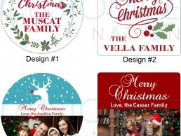 MGN03-01 – Personalized Christmas Magnet