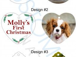 ORN15-01 – Christmas ornaments – Pets